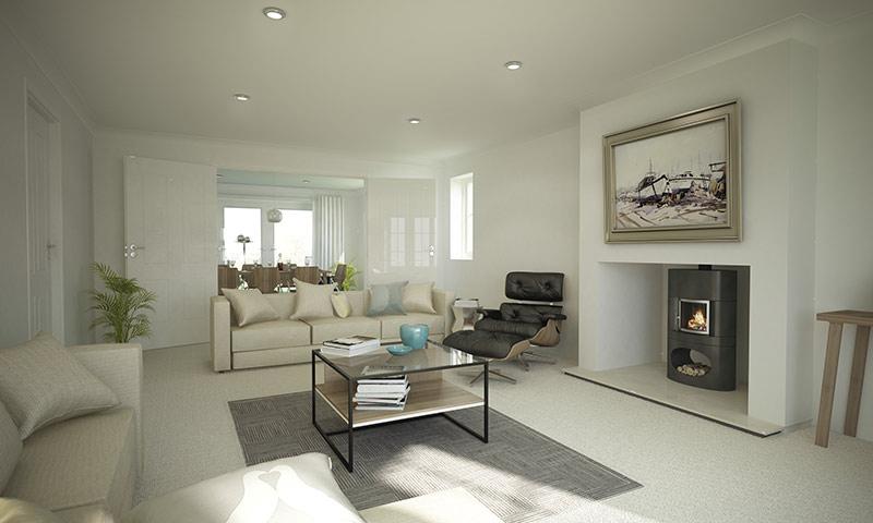 Harlestone Homes Living Room